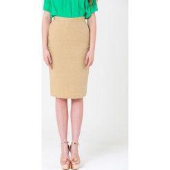 Spódniczki: Spódnica w kolorze beżowym