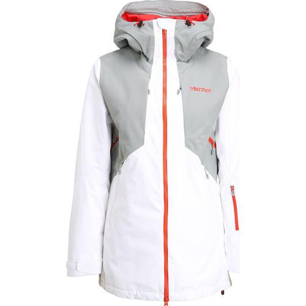 c5c285bb7230b Marmot WOMEN POWDERLINE Kurtka narciarska white/grey storm - Białe ...