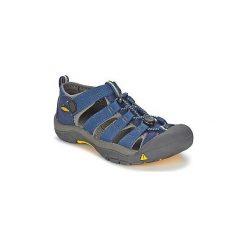 Sandały sportowe Dziecko  Keen  KIDS NEWPORT H2. Niebieskie buty sportowe chłopięce Keen. Za 207,20 zł.