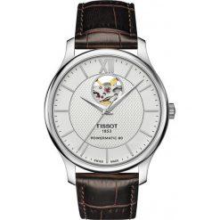 RABAT ZEGAREK TISSOT T-Classic T063.907.16.038.00. Szare zegarki męskie TISSOT, ze stali. W wyprzedaży za 2464,00 zł.