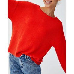Sweter typu multiway. Niebieskie swetry klasyczne damskie marki Pull&Bear. Za 48,90 zł.