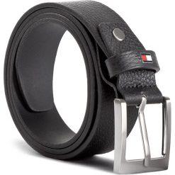 Pasek Męski TOMMY HILFIGER - Grainly Leather Belt 3.5 Adj AM0AM03349 002. Czarne paski męskie TOMMY HILFIGER, w paski, ze skóry. W wyprzedaży za 169,00 zł.