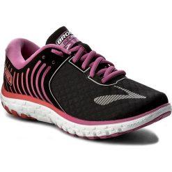 Buty BROOKS - PureFlow 6 120237 1B 056 Black/Rose Violet/Bittersweet. Czarne buty do biegania damskie Brooks, z materiału. W wyprzedaży za 289,00 zł.