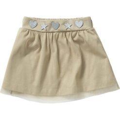 Spódniczka tiulowa bonprix brunatny. Brązowe spódniczki dziewczęce bonprix, z aplikacjami, z dżerseju. Za 17,99 zł.