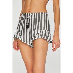 Undiz - Szorty piżamowe Rufliz. Brązowe piżamy damskie marki Undiz, l, z materiału. Za 49,90 zł.