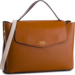 Torebka GUESS - HWVG70 96190  COG. Brązowe torebki klasyczne damskie Guess, z aplikacjami, ze skóry ekologicznej, duże. Za 649,00 zł.