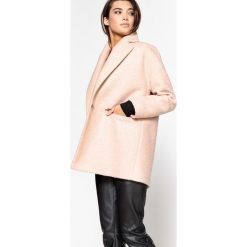 Płaszcze damskie pastelowe: Płaszcz półdługi 20% wełny