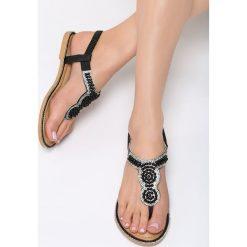 Czarne Sandały To The Claskys. Czarne sandały damskie vices, na płaskiej podeszwie. Za 69,99 zł.