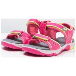 Jack Wolfskin ACORA BEACH Sandały trekkingowe tropic pink. Czerwone sandały chłopięce marki Jack Wolfskin, z materiału. Za 189,00 zł.