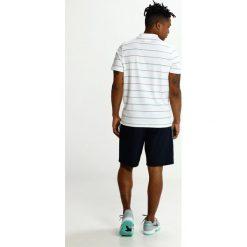 Lacoste Sport STRIPE Koszulka polo white/black/papeete/menthol turquoise. Białe koszulki sportowe męskie Lacoste Sport, m, z bawełny. Za 359,00 zł.