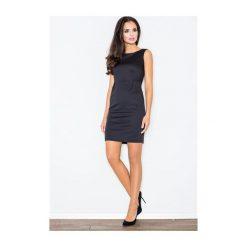 Sukienka Brendy M079 Czarna. Białe sukienki balowe marki NIFE. Za 99,00 zł.