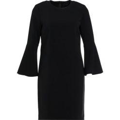 Polo Ralph Lauren TEXTURED CADY Sukienka letnia black. Czarne sukienki letnie marki Polo Ralph Lauren, polo. W wyprzedaży za 503,60 zł.