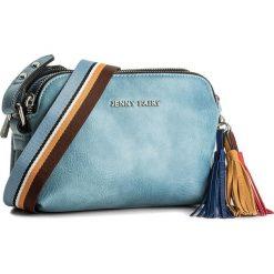 Torebka JENNY FAIRY - RS0125  Jeansowy. Niebieskie listonoszki damskie marki Jenny Fairy, z jeansu. Za 69,99 zł.