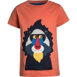T-shirty chłopięce z nadrukiem: Frugi KIDS JAMES APPLIQUE  Tshirt z nadrukiem warm orange