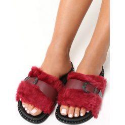 Klapki damskie: Czerwone Klapki Primrose
