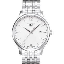 RABAT ZEGAREK TISSOT T-CLASSIC T063.610.11.037.00. Szare zegarki męskie TISSOT, ze stali. W wyprzedaży za 1139,60 zł.