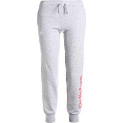 Adidas Performance LINEAR Spodnie treningowe melange grey/reacor. Szare spodnie chłopięce adidas Performance, z bawełny. Za 129,00 zł.