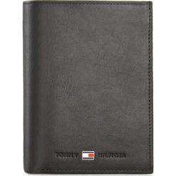Duży Portfel Męski TOMMY HILFIGER - Johanson N/S Wallet W/Coin Pocket AM0AM00664 Czarny 002. Czarne portfele męskie marki TOMMY HILFIGER, ze skóry. Za 299,00 zł.