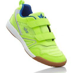 Buty sportowe Brütting bonprix zielona limonka - niebieski. Różowe buty sportowe chłopięce marki New Balance, na lato, z materiału. Za 79,99 zł.
