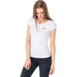4f Koszulka damska H4L18-TSD002 biała r. M. Białe bluzki damskie marki 4f, l. Za 26,42 zł.