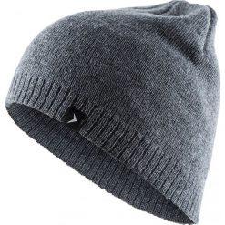 Czapka męska CAM600 - ciemny szary melanż - Outhorn. Szare czapki zimowe męskie Outhorn, na jesień, melanż. Za 19,99 zł.