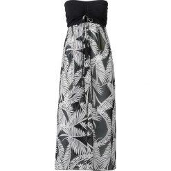 Sukienki hiszpanki: Sukienka plażowa bonprix czarno-biały