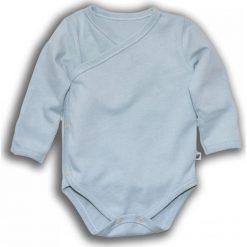 Body kimono z długim rękawem MINT r. 56 (NOM-02/56). Zielone body niemowlęce NANAF ORGANIC, z długim rękawem. Za 42,27 zł.