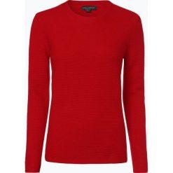 Franco Callegari - Damski sweter z wełny merino, czerwony. Zielone swetry klasyczne damskie marki Franco Callegari, z napisami. Za 249,95 zł.