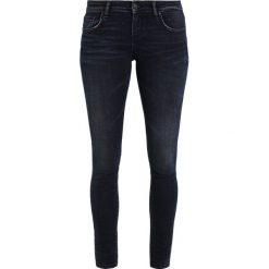 LTB CLARA Jeansy Slim Fit dark blue denim. Niebieskie jeansy damskie marki LTB, z bawełny. W wyprzedaży za 269,10 zł.