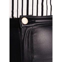 Lost Ink HIGH WAIST  Jeans Skinny Fit black. Czarne boyfriendy damskie Lost Ink, z podwyższonym stanem. Za 189,00 zł.