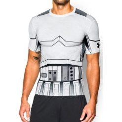 Under Armour Koszulka męska Trooper Full Suit Comp SS biała r. L (1273450 100). Białe koszulki sportowe męskie Under Armour, l. Za 139,00 zł.