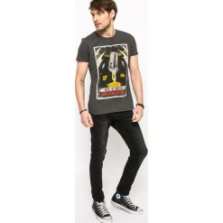 Medicine - Jeansy Let's Rebel. Czarne jeansy męskie relaxed fit marki MEDICINE, z bawełny. W wyprzedaży za 99,90 zł.