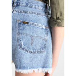 LOIS Jeans SANDRA Szorty jeansowe eighties stone. Czarne jeansy damskie marki LOIS Jeans, z bawełny. Za 379,00 zł.