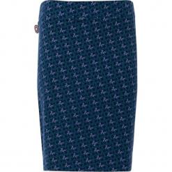 """Spódnica """"The More I Get"""" w kolorze błękitno-granatowym. Niebieskie spódniczki 4funkyflavours Women & Men, l, z bawełny, midi, proste. W wyprzedaży za 131,95 zł."""