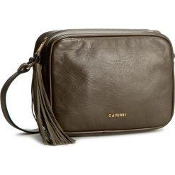 Torebka CARINII - Cava Zielona Lico. Zielone torebki klasyczne damskie Carinii. W wyprzedaży za 379,00 zł.