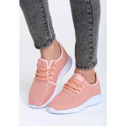 Różowe Buty Sportowe Come Down. Czerwone buty sportowe damskie marki Born2be, z materiału. Za 89,99 zł.