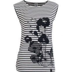 Bluzki damskie: Woox Koszulka damska Funiculus Simplex biało-czarna r. 40