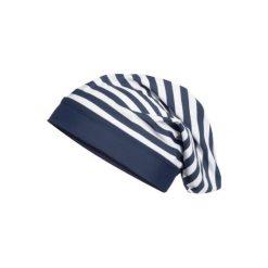 Playshoes  Czapka UV Beanie Maritim - niebieski - Gr.Moda (2 - 6 lat). Niebieskie czapeczki niemowlęce Playshoes, z elastanu. Za 29,00 zł.