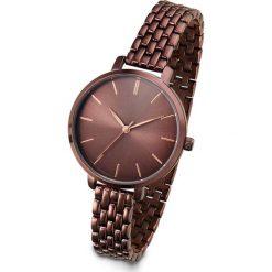 Zegarki damskie: Zegarek na rękę bonprix brązowy