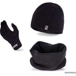 Czapki męskie: Zestaw zimowy czapka + komin + rękawiczki