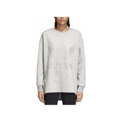 Adidas Bluza damska Originals adicolor Trefoil szara r. 36 (CD6921). Szare bluzy sportowe damskie marki Adidas, l, z dresówki, na jogę i pilates. Za 224,02 zł.