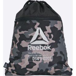 Reebok - Plecak. Szare plecaki męskie Reebok, z materiału. W wyprzedaży za 49,90 zł.