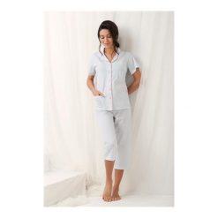 Piżamy damskie: Piżama Brenda 573 Szara