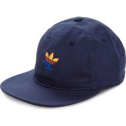Czapka z daszkiem adidas - Push Snap Back DH2579 Conavy. Niebieskie czapki z daszkiem męskie Adidas, z bawełny. W wyprzedaży za 129,00 zł.