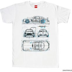 Koszulka MERCEDES GULLWING WHITE. Czarne bluzki z odkrytymi ramionami marki Pakamera, m, z kapturem. Za 77,00 zł.