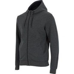 Bluzy męskie: 4f Bluza męska z kapturem H4L18-BLM003 ciemnoszara r. XXL