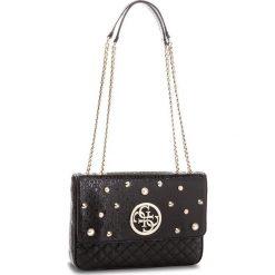 Torebka GUESS - HWSG69 89210  BLA. Czarne torebki klasyczne damskie Guess, z aplikacjami, ze skóry ekologicznej. Za 629,00 zł.