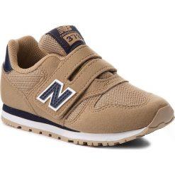 Trampki chłopięce: Sneakersy NEW BALANCE – KV373TAY Brązowy