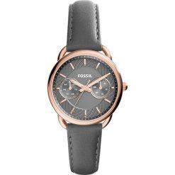 Zegarek FOSSIL - Tailor ES3913 Gray/Rose Gold. Różowe zegarki damskie marki Fossil, szklane. W wyprzedaży za 499,00 zł.
