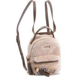 Plecak LIU JO - S Backpack Brentas N68066 E0412  Soia 21404. Brązowe plecaki damskie Liu Jo, z materiału, eleganckie. Za 469,00 zł.